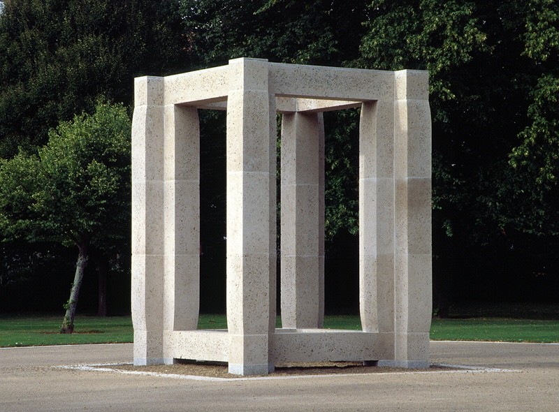 An image of the Enclosure sculpture